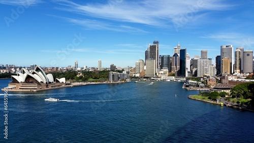 Foto auf Acrylglas Sydney Sydney City et Opera