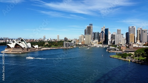 Deurstickers Sydney Sydney City et Opera