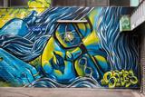 Fototapeta Młodzieżowe - Graffiti in Croft Alley, Melbourne