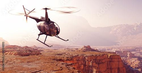 Türaufkleber Hubschrauber Civilian helicopter