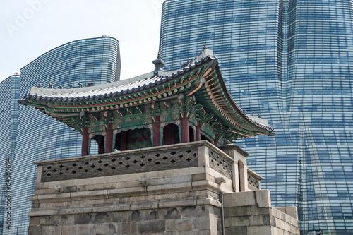 Papiers peints Seoul Seoul Alt und Neu