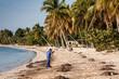 Playa Larga beach, Bay of Pigs, Cuba, America