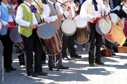 Stampa su Tela Fifres et tambourins en Provence