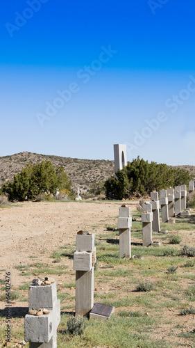 Keuken foto achterwand Begraafplaats Desert Cemetery