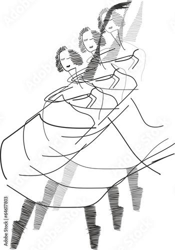 Photo  taniec w balecie