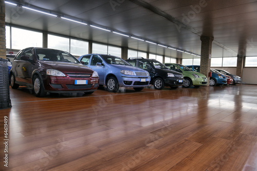 Fotografie, Obraz  saloon cars sales