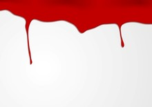 Abstract Red Blood Design
