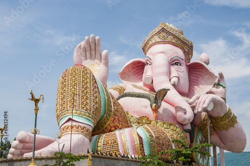 Ganesh statue. Poster