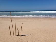 Abstractio Na Praia