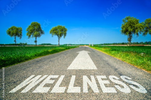 Fotografia metaphor about the stress and wellness