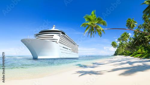 Fotografía  3D Cruise ship