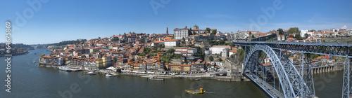 Poster Algérie Ville de Porto au Portugal avec bateau Rabelo