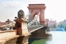 Chain Bridge With Monument Of ...
