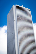 Low Angle View Of A Skyscraper...
