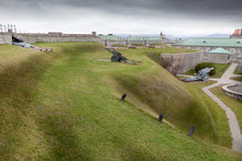 View Of A Fort, Citadelle Of Quebec, Quebec City, Quebec, Canada
