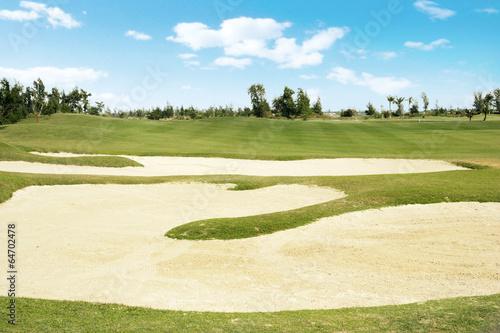 Deurstickers Golf 골프장 풍경