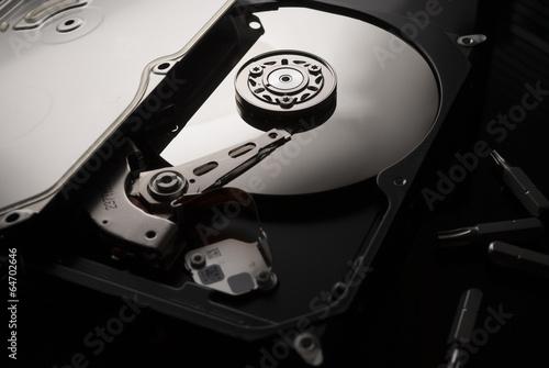 Fotografia  Hard drive