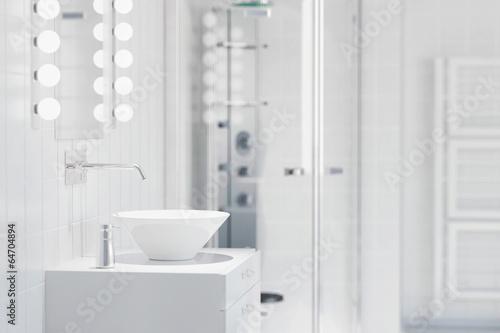 Fotografía  Waschbecken in einem modernen Bad