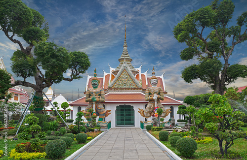 Wat Arun  is a Buddhist temple  in Bangkok