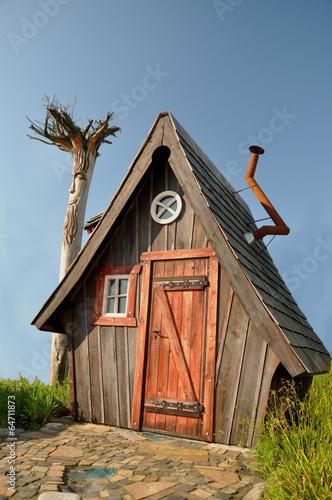 Fotografie, Obraz  Märchenhaftes Holzhaus