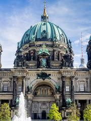 Fototapeta na wymiar Berlin Cathedral, Germany