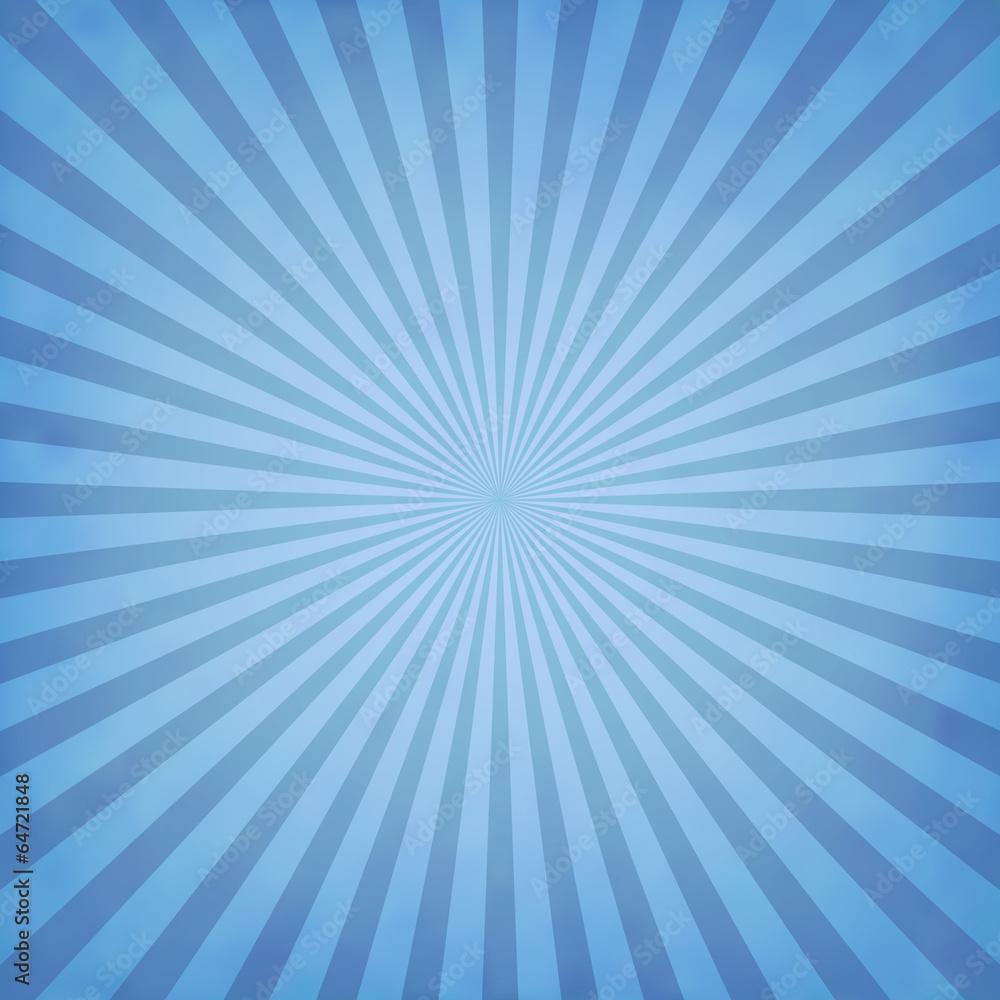 Fototapety, obrazy: Blue rays background