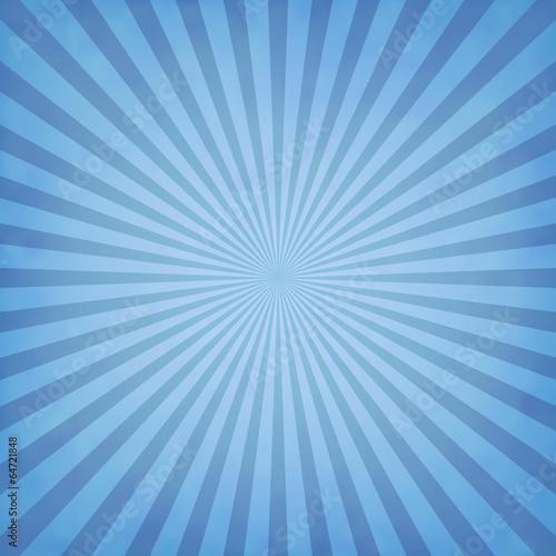 Fotografie, Tablou  Blue rays background