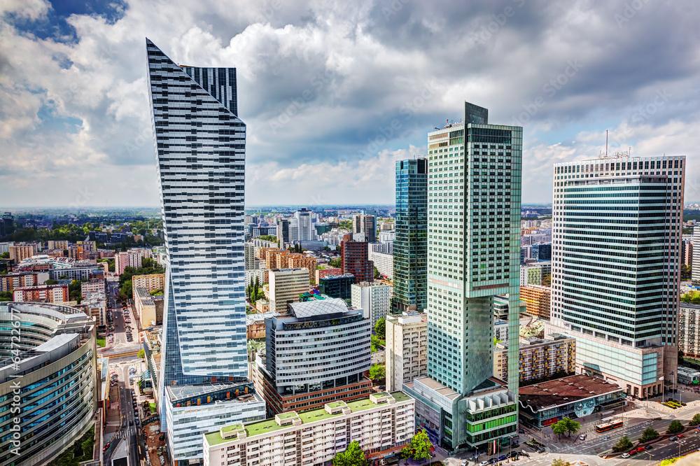 Fototapety, obrazy: Warszawa Śródmieście, centrum miasta