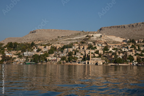 village on the Euphrates River