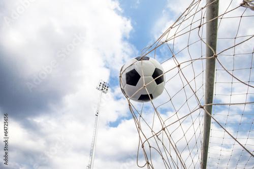 Fototapety, obrazy: Soccer football Goal