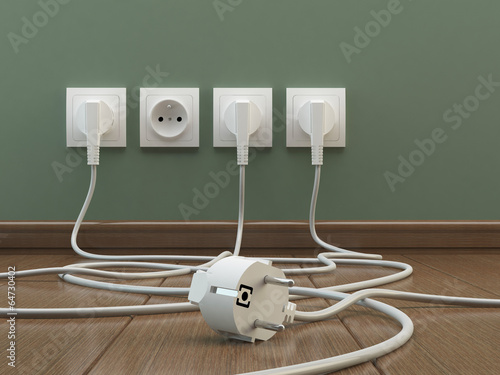 Fotografía  Power plugs