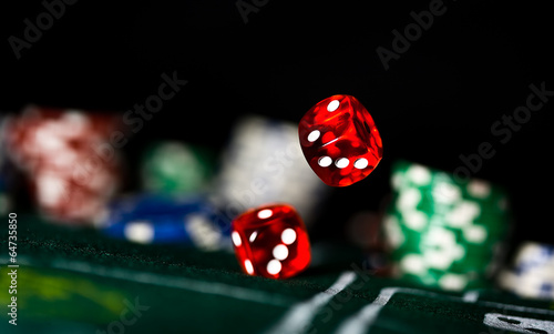 Photo  Rolling Dice