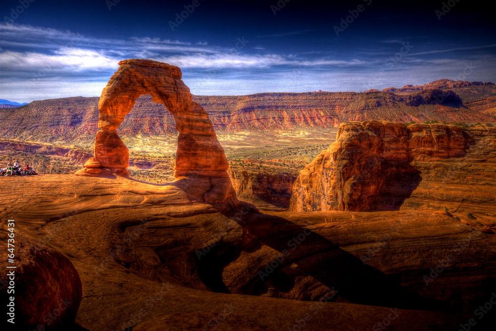 Fototapeta Delicate Arch HDR - Utah, USA