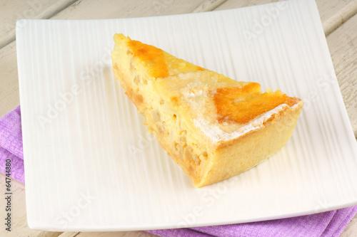Fotografie, Obraz  Slice of Neapolitan Pastiera tart
