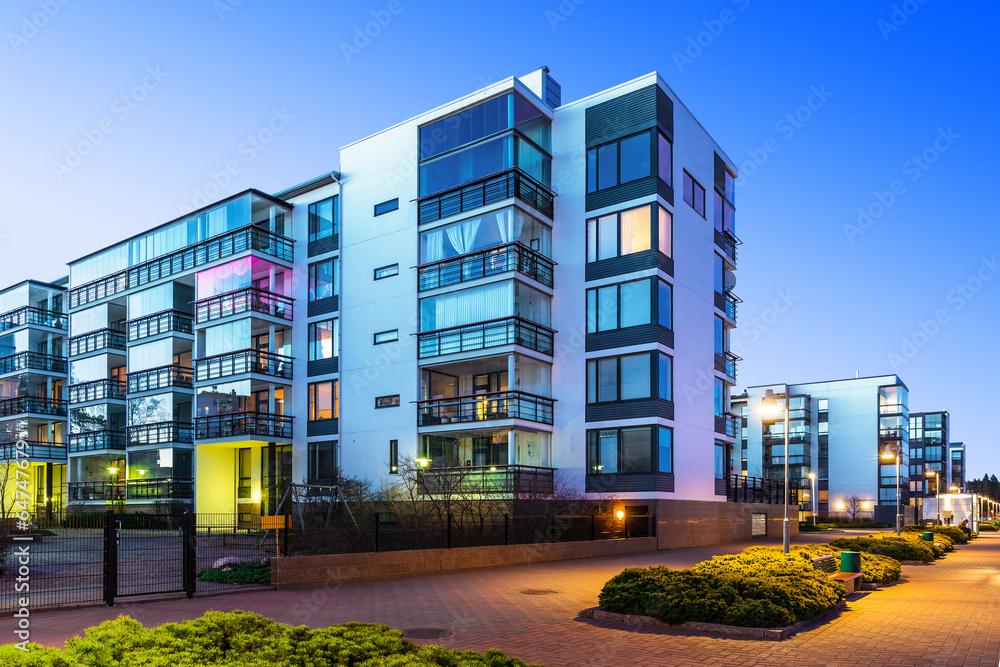 Fototapeta Modern real estate