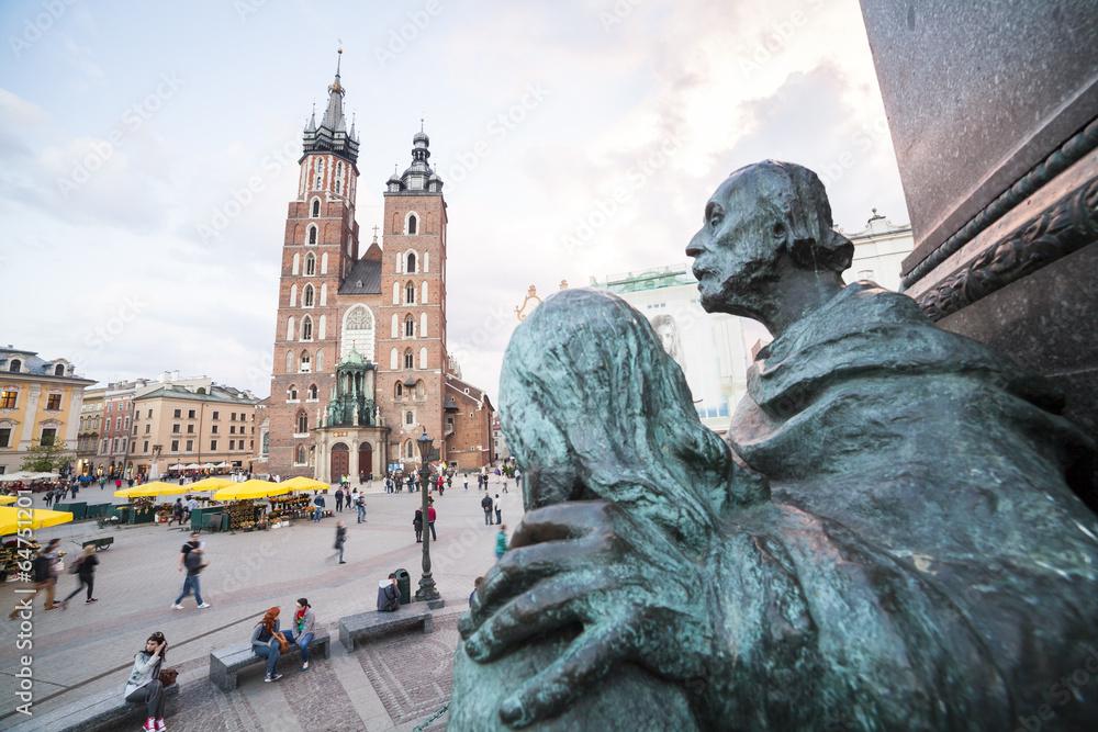 Fototapety, obrazy: Rynek w Krakowie, Polska, Europa