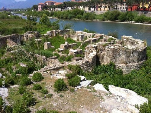 resti romani albenga Canvas Print