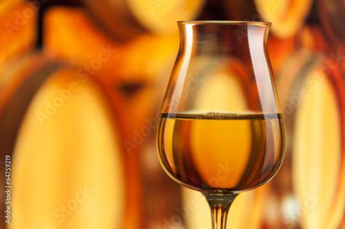 Fotografie, Obraz  Glass of Grappa