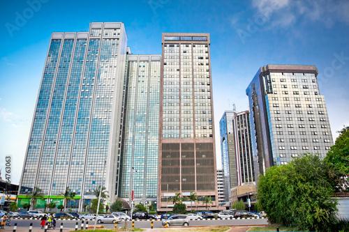 Staande foto Afrika Nairobi, the capital city of Kenya