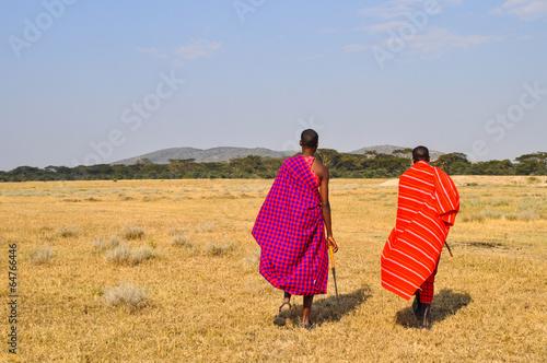 Staande foto Afrika Masai