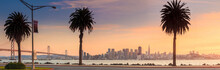 San Francisco And Bay Bridge T...