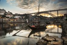 Ville De Porto Au Portugal