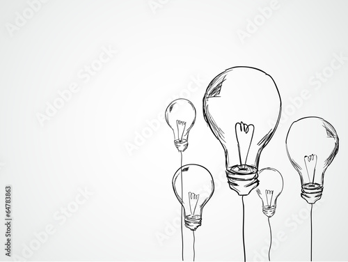 Bulbs Sketch Vector