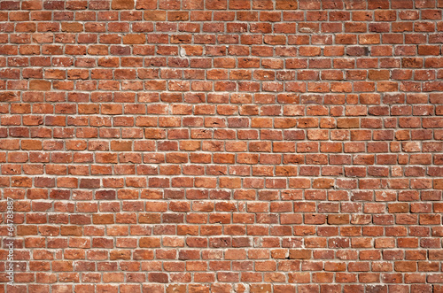 In de dag Wand Brick Wall Background