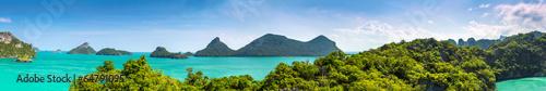 Keuken foto achterwand Panoramafoto s Thailand panorama.