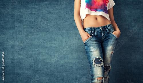 Fotografie, Obraz  Sexy young woman