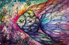 Fishes .Watercolors