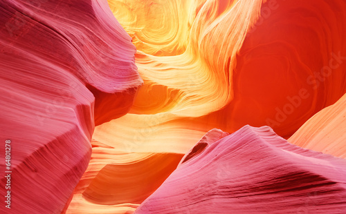 Poster Cuban Red Lower Antelope Canyon
