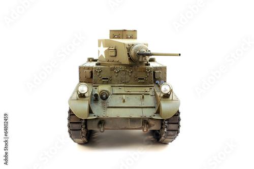 Photo  American light tank M3