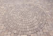 Ornamental Pattern In Patio Pa...